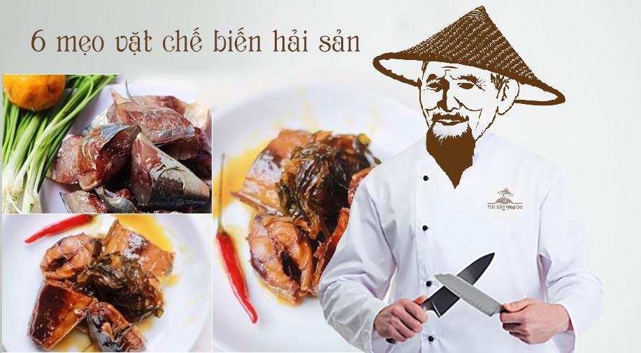 món ăn, đầu bếp, chế biến hải sản