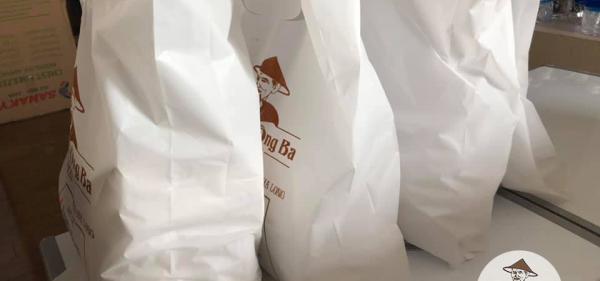 túi hàng chả mực trền tủ lạnh,