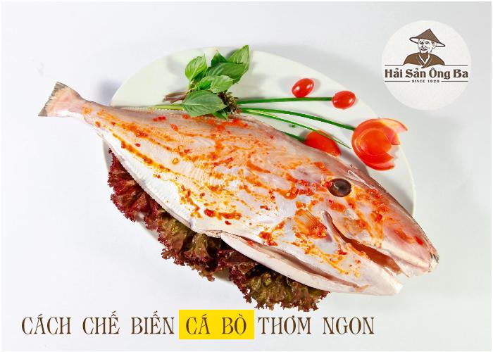 đĩa cá bò tẩm ướp gia vị