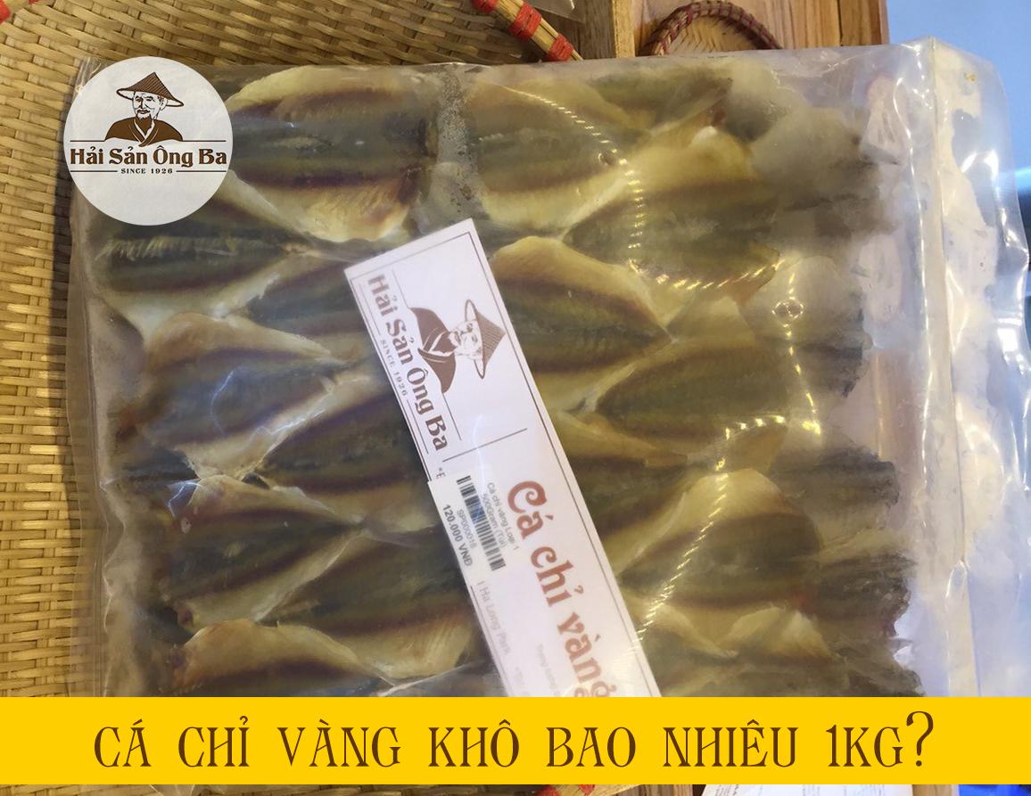 túi cá chỉ vàng khô 0,5kg