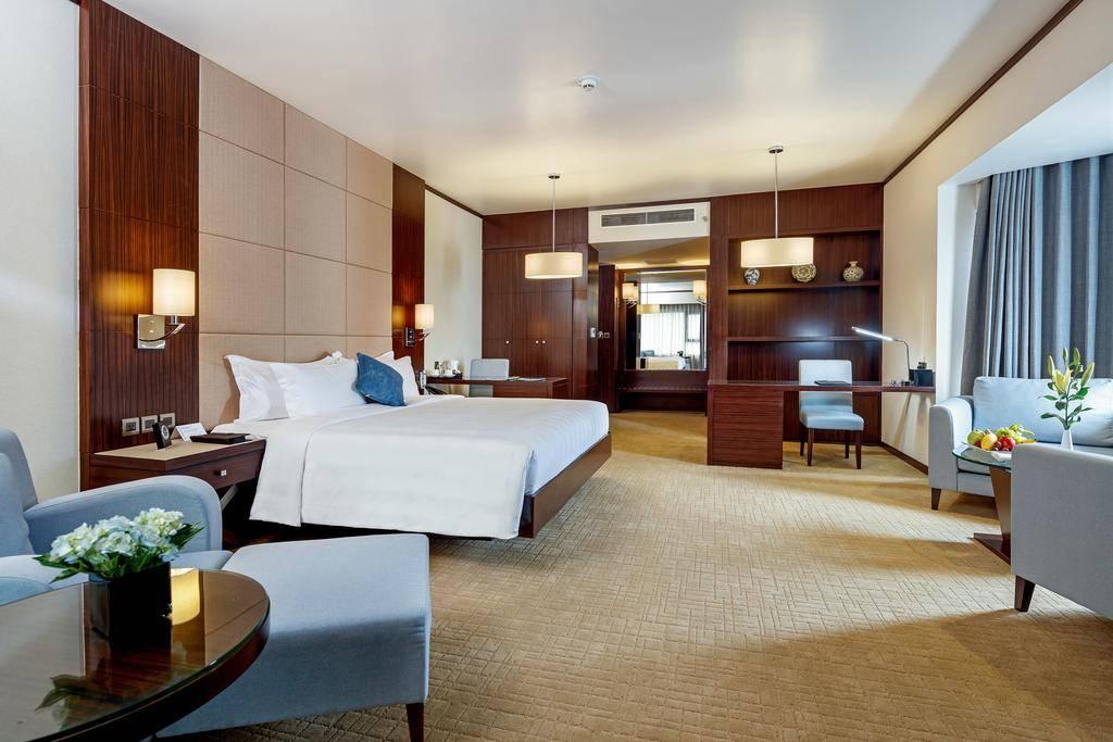 Các phòng tại khách sạn Hạ Long được thiết kế theo phong cách hiện đại